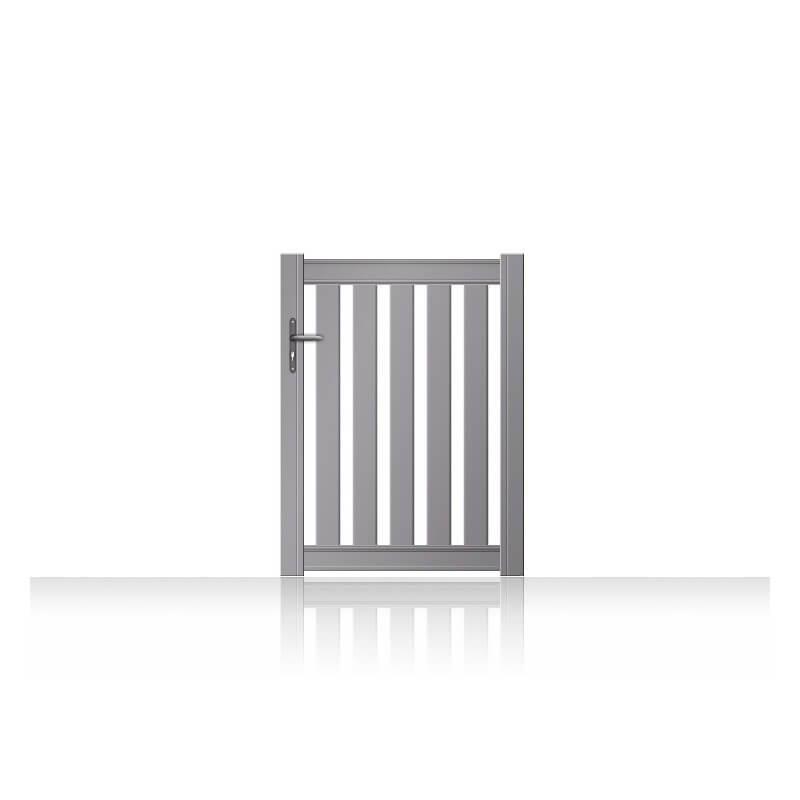Portillon aluminium Bordeaux