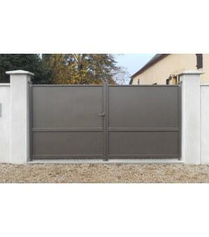 Portail aluminium Rhone