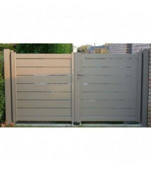 Portail aluminium Metz