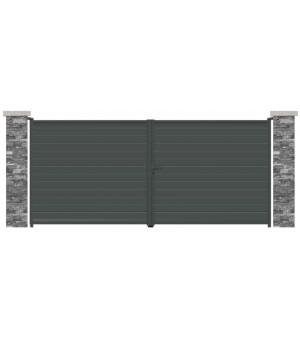 Portail aluminium Miami