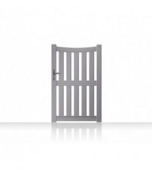 Portillonbarreaudé en aluminium cintré sur mesure