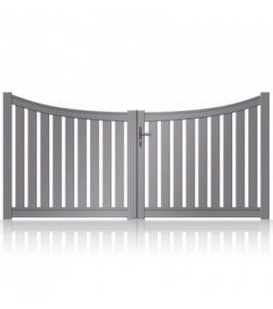 Portail aluminium Daix