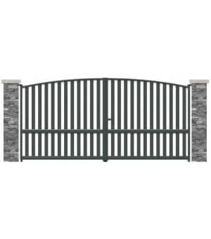 Portail aluminium Bobigny