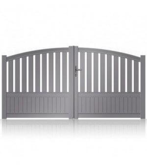 Portail aluminium Bussy