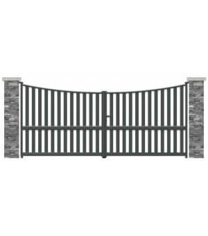 Portail aluminium Cayenne