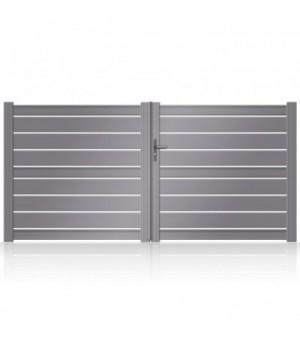Portail aluminium Bourgoin