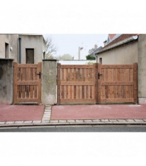 Portillon bois Mulhouse