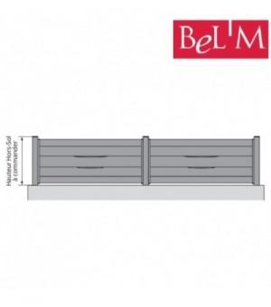 Clôture aluminium sur mesure by BEL'M