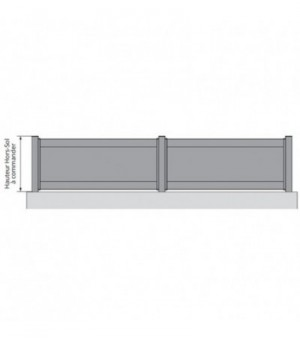 Clôture aluminium Chelles