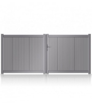 Portail aluminium Cabourg