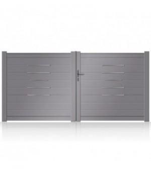 Portail aluminium Alinea