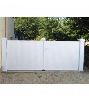 Pilier PVC 200 x 200 mm pour portail jusqu'à 1.5 m
