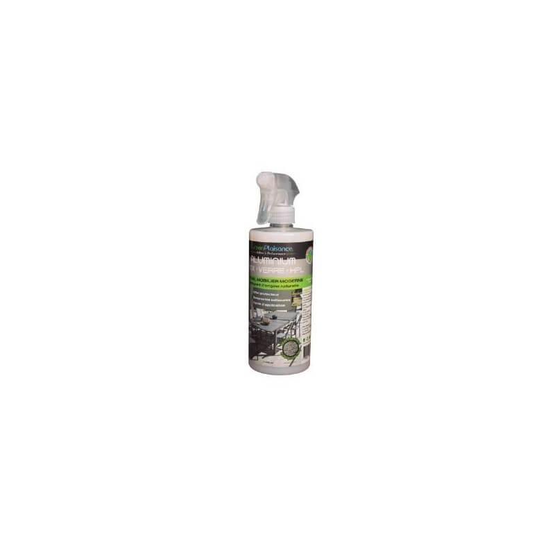 Spray nettoyant pour portail portillon aluminium