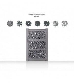 Portillon aluminium Kulib