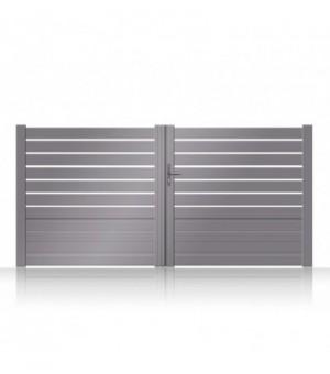 Portail aluminium KOBIN