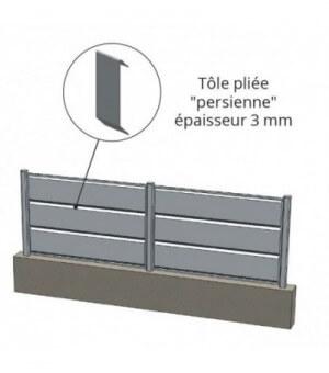 Clôture aluminium Andernos