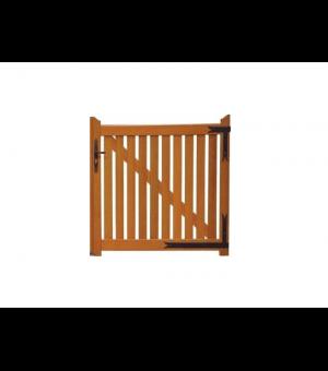 Portillon barreaudé bois TOUR
