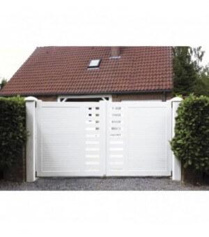 Portail PVC coulissant Cholet