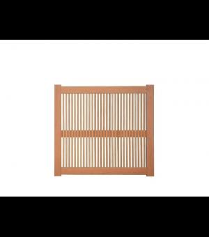 Portillon bois ajouré ROUBAIX