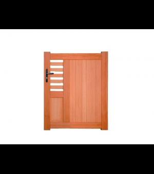 Portillon bois semi-plein design CARCASSONNE