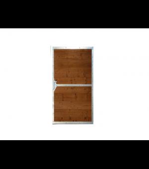 Portillon en bois et acier ultra design plein FREJUS