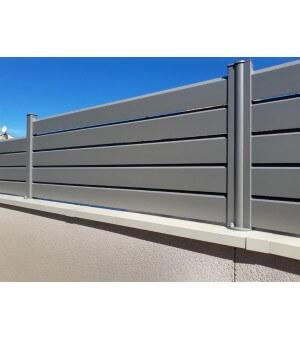 Clôture aluminium Lacanau