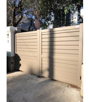 Portail aluminium Arcachon