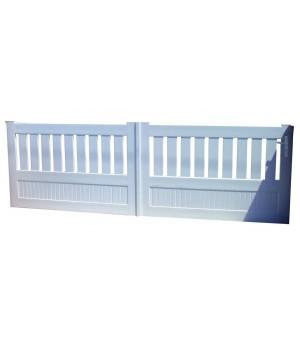 Portail PVC coulissant Chaville