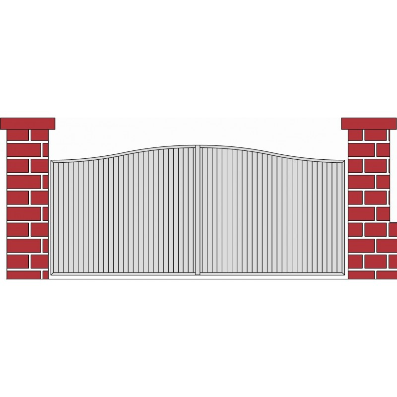 portail coulissant PVC CERNY