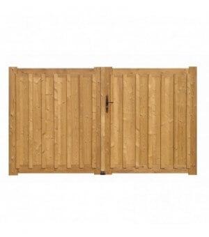 Portail 2 vantaux plein avec relief GRENOBLE