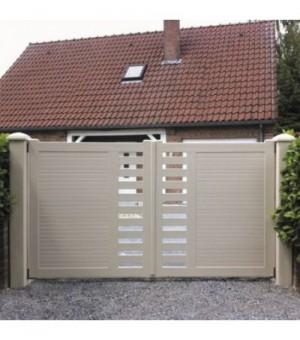 Portail PVC battant Cholet