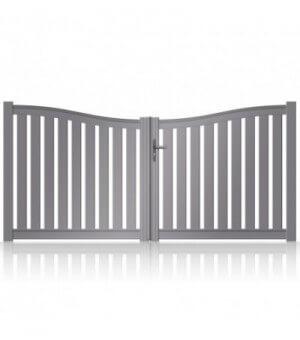 Portail aluminium Dreux