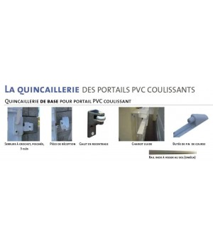 Portail PVC coulissant Massy