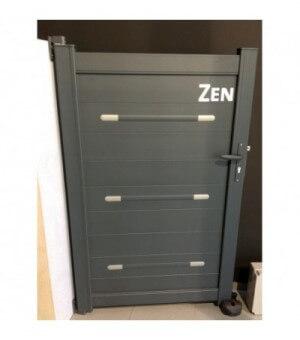 Portillon aluminium Zen