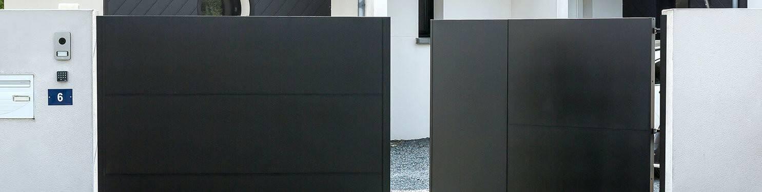 Portail aluminium sur mesure | LMC Ouvertures