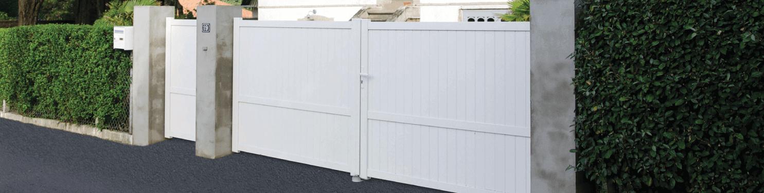 Portail PVC sur mesure | LMC Ouvertures