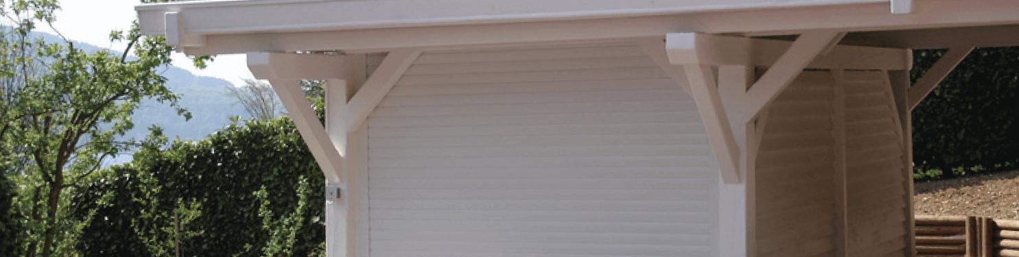 Porte de garage enroulable sur mesure   LMC Ouvertures