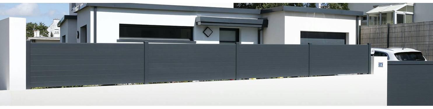 Clôture aluminium sur mesure | LMC Ouvertures
