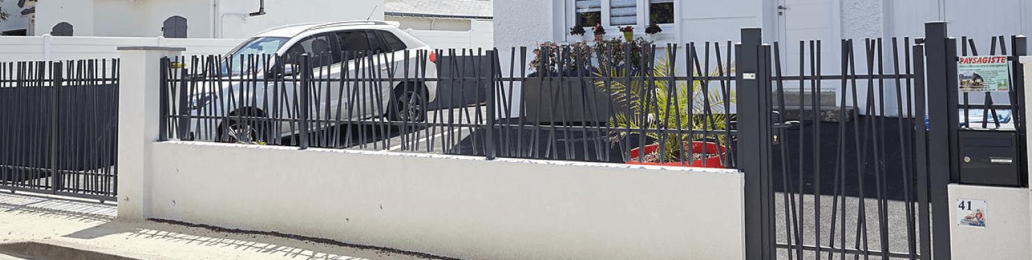 Clôture aluminium design sur mesure | LMC Ouvertures