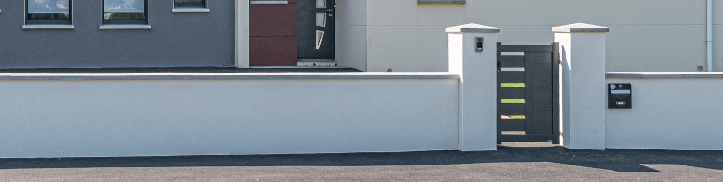 Portillon aluminium design sur mesure | LMC Ouvertures