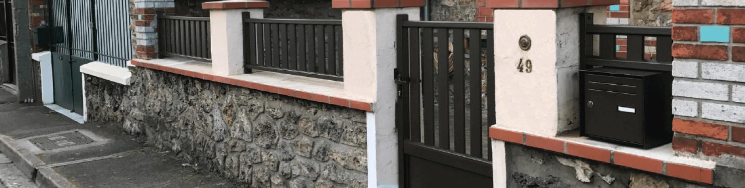 Portillon aluminium petits prix sur mesure |LMC Ouvertures