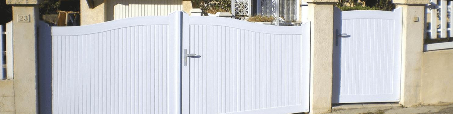 Portillon tradition en PVC sur mesure |LMC Ouvertures